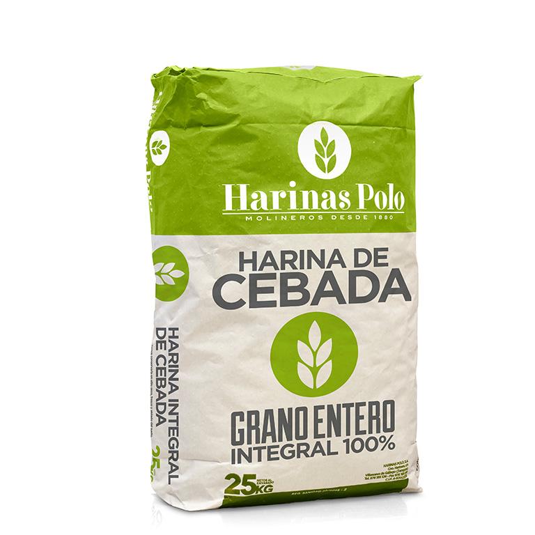 Harina de Cebada Integral