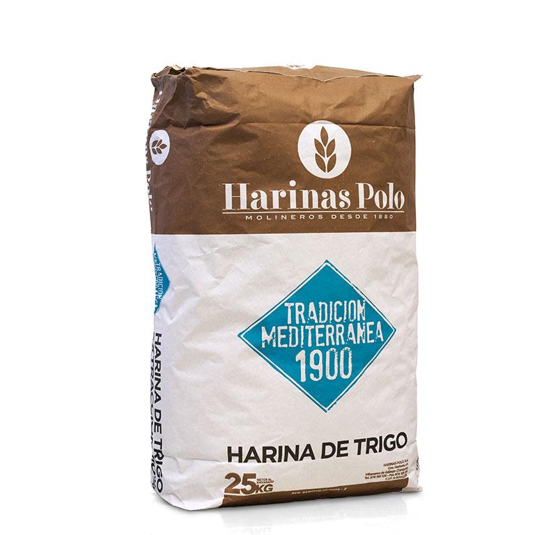 Harinas de trigo tradición mediterranea 1900