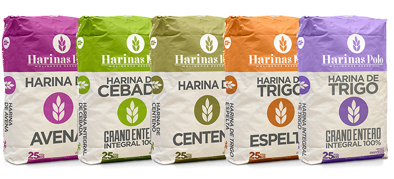Harinas especiales multicereales - Harinas Polo